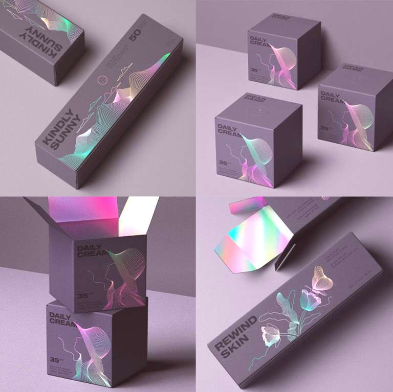 11 Mesmerizing Holographic Packaging Designs - Swedbrand Group