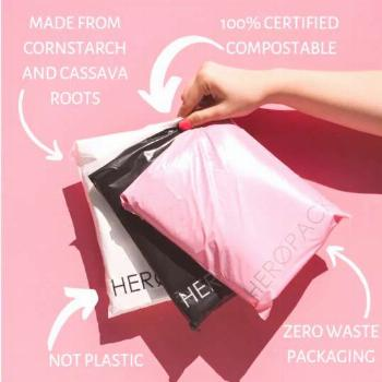 100% Biodegradable, Eco-Friendly & Compostable Packaging Shipping Mailers in Australia. Hero Packag