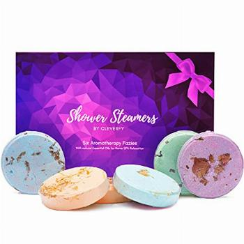 Cleverfy Aromatherapy Shower Steamers - Variety Pack of 6