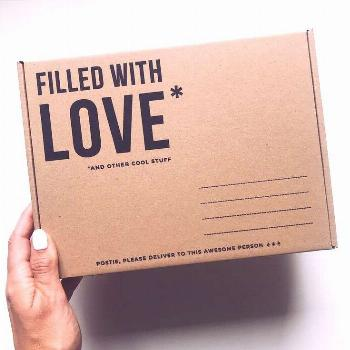 Filled With Love - RUTH XO Packaging