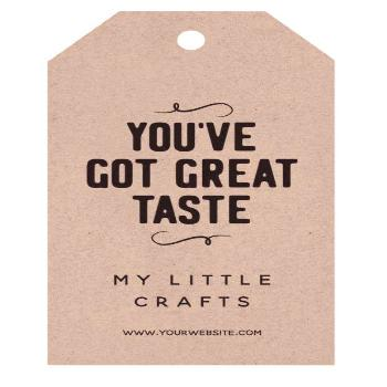 Great Taste Small Business Gift Tags