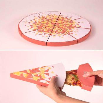 Of The Most Genius Food Packaging Designs Ever Created Toss - Gourmet Pizza By The SliceToss - Gour