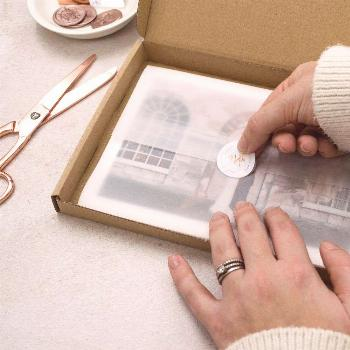 Round sticker, tissue paper ideas, small business packaging, online store orders, packaging ideas,