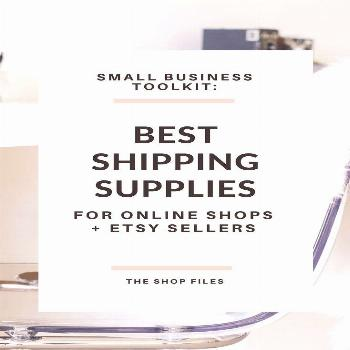 Small Business Toolkit- Shipping Supplies for Online Shops | packaging wrapping ideas for Etsy shop