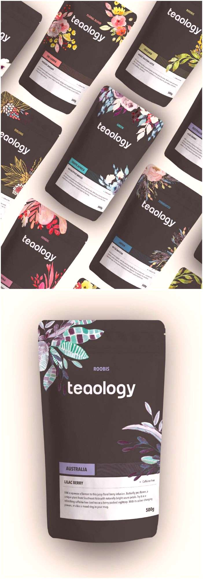 Binary Vision Studios - Teaology Packaging Design / Submit /submit / World Brand Design Society
