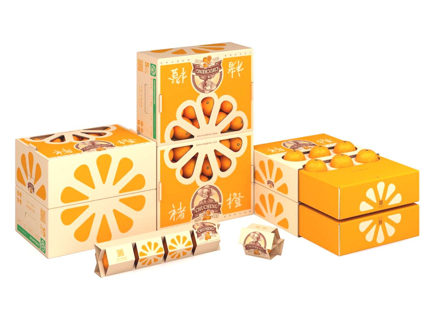 Chus Orange on Packaging of the World - Creative Package Design Gallery