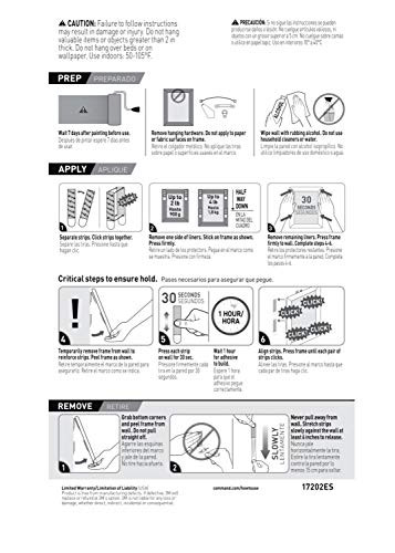 Command Picture Hanging Strips, 18-Pairs (36-Strips),
