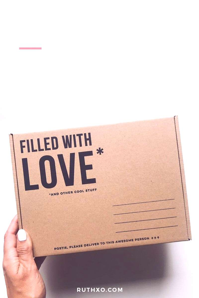 Eco-Friendly Love Filled Packaging Eco-Friendly love filled packaging made from recycled cardboard