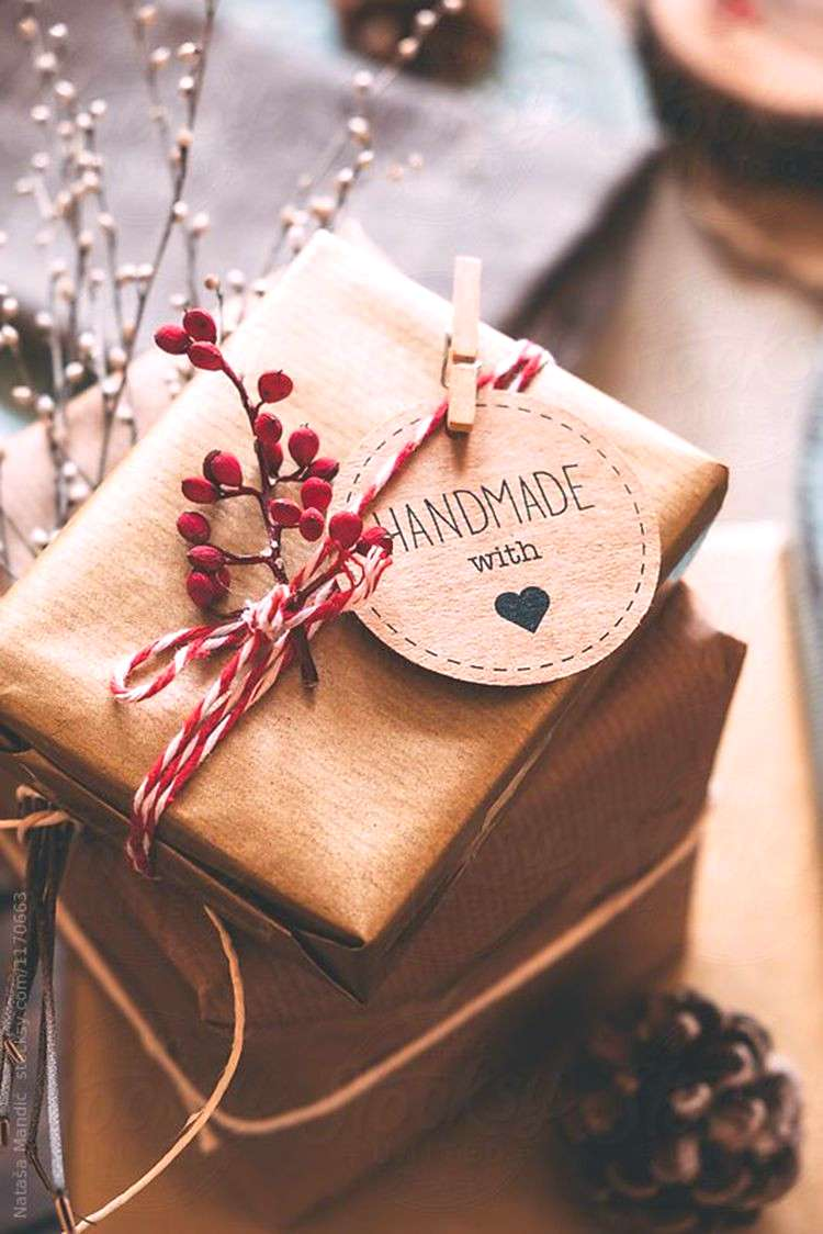 Homemade DIY Valentines's day Gift Wrapping Christmas Gift Wrapping Decorations Ideas Holiday G