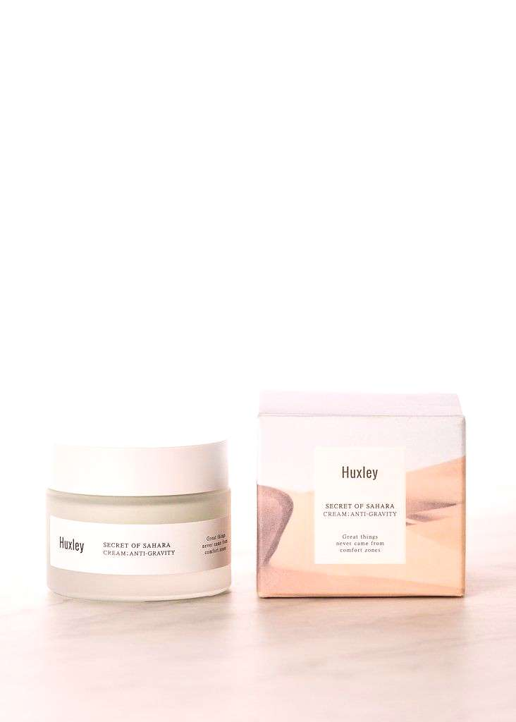 HUXLEY // Cream Anti-Gravity // Rich with antioxidants, this cream is concentrated with 51% Sahara