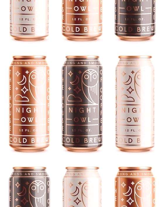 Packaging Design I really like the patterns on the cans. I think the bronzy color was a god choice