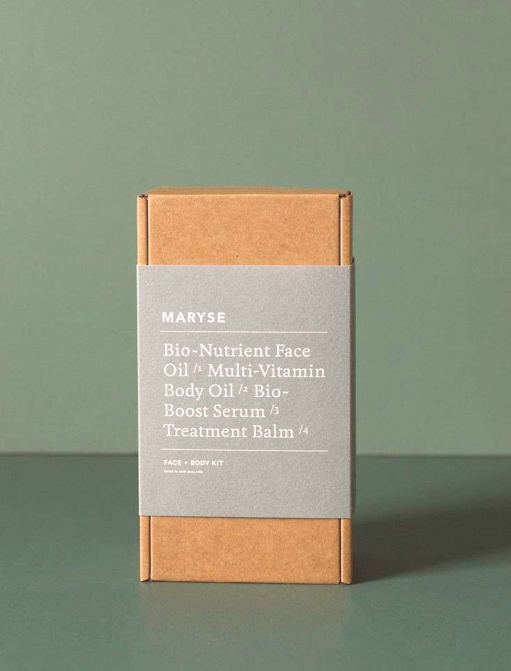 The Face + Body Kit by Maryse features all the 'hero' products from her bespoke, cult skin coll
