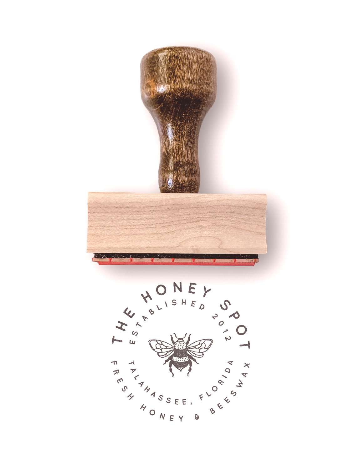 This custom logo stamp is designed and ready for your small business info. How to Order Choose you