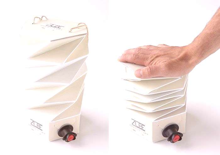 Wow!!! increibles packagings... Squishable Wine Box Lets You Squeeze Wine Until The Last Drop